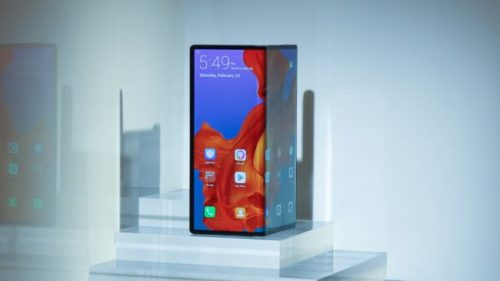 Huawei Mate X foldable phone is in 'final testing'