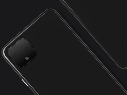 Google Pixel 4 seemingly caught in the wild, and with a tiny chin