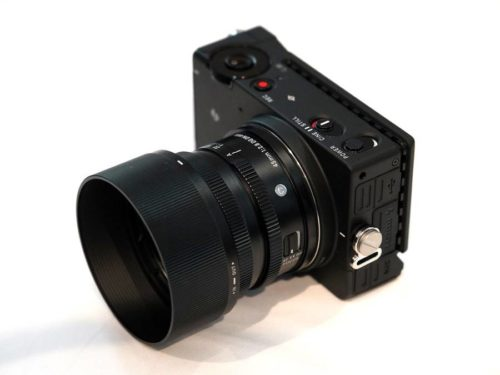 Sigma fp Full Frame Mirrorless Camera with L-mount