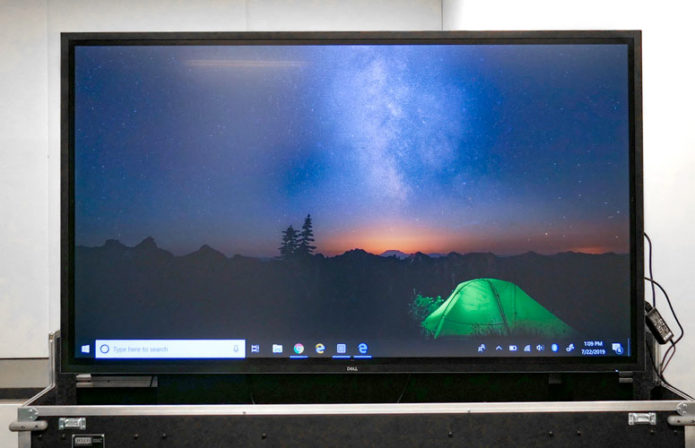 Dell 75 4K Interactive Touch Monitor (C7520QT) Review