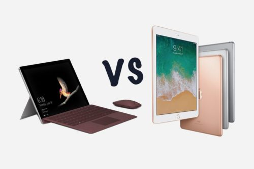 Microsoft Surface Go vs Apple iPad 9.7: What's the difference?