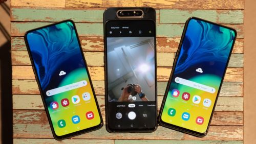 Samsung Galaxy A80 vs Vivo S1: 8GB RAM, triple 48MP cameras!