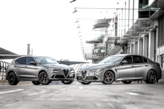 Alfa Romeo Giulia and Stelvio Quadrifoglio NRING revealed
