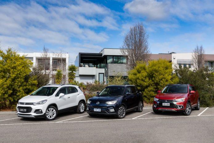 2019 Holden Trax LTZ v Mitsubishi ASX Exceed v SsangYong Tivoli Ultimate - Comparison