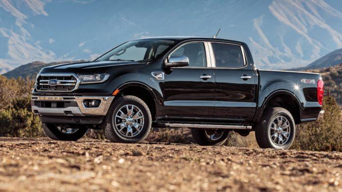2019-Ford-Ranger-Lariat-4x4-Ecoboost-front-three-quarter