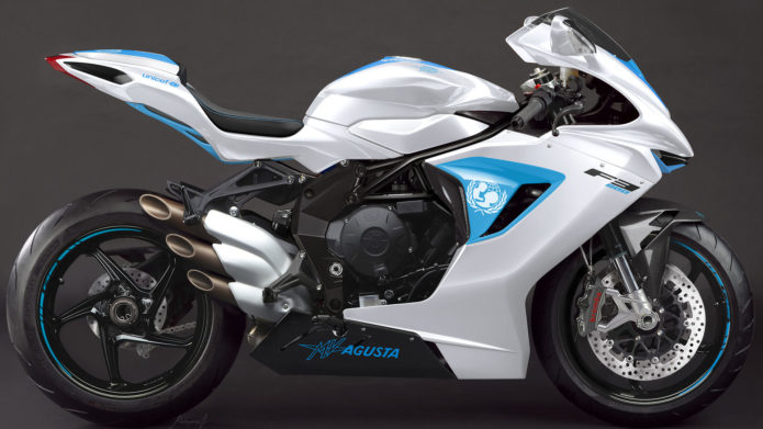 2019 MV AGUSTA UNICEF F3 800: ONE-OF-A-KIND FOR CHARITY