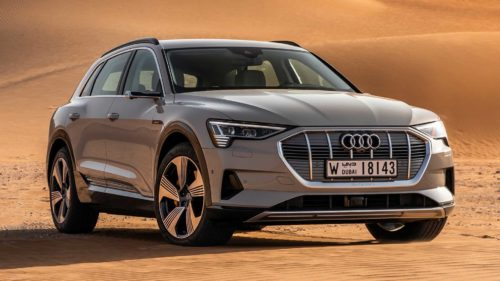2019 Audi E-Tron is the first electric car to earn top IIHS safety rating