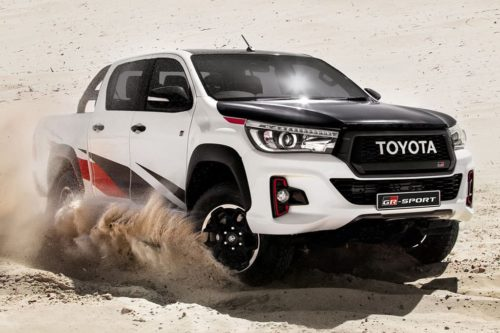 Raptor-fighting Toyota HiLux GR firms