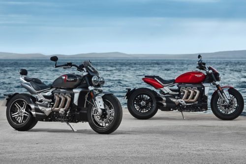 Triumph's New Rocket 3 Packs the Biggest Motorcycle Engine Ever to Hit the Streets