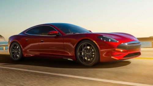 This Karma Revero plug-in hybrid's audio system took more than 2 years to design