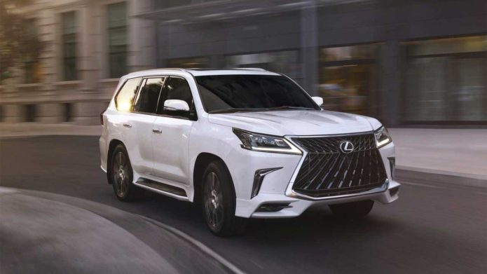 2020 Lexus LX 570 Sport Package brings new style inside and out