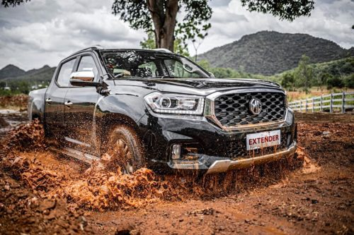 2020 MG Extender ute unveiled