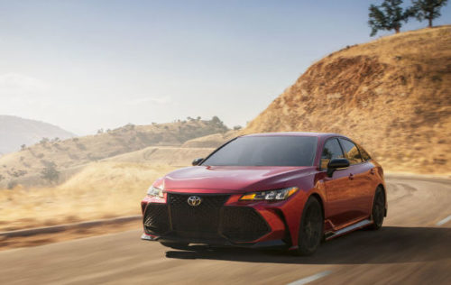 2020 Toyota Avalon TRD Adds Flagship Performance and Looks