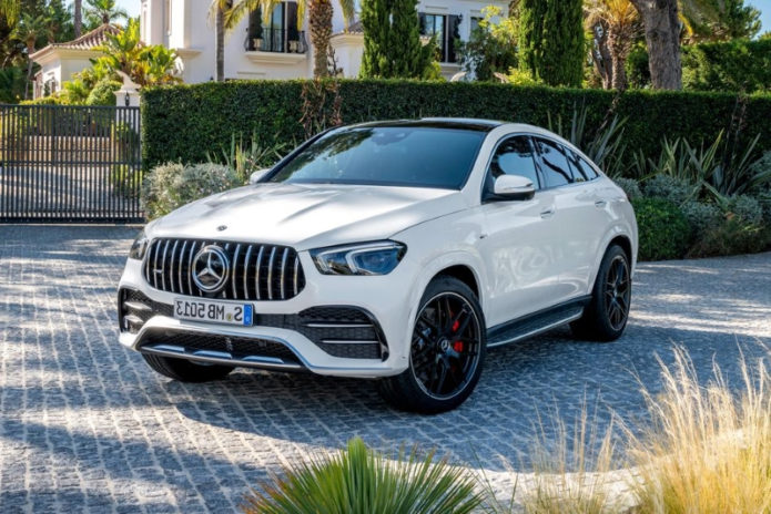 """2021 Mercedes-AMG GLE """"Coupe"""" Is Portly but Powerful"""