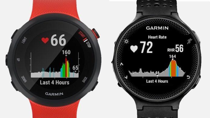 Garmin Forerunner 235 v Forerunner 45: Cheap running watches compared