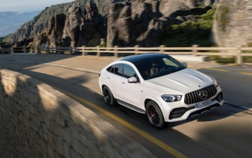 2021 Mercedes-AMG GLE53 coupe is an SUV that wishes it was a sports car
