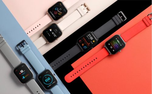 Amazfit GTS VS Apple Watch Series 4: screen display and battery compare