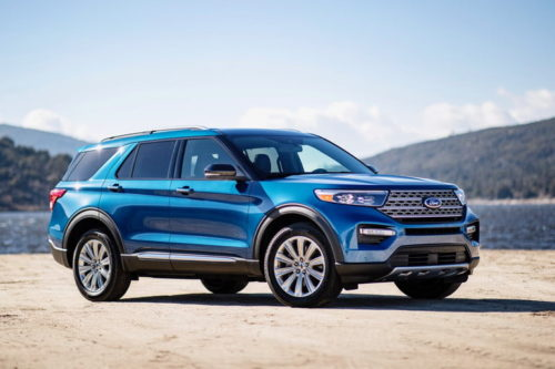 2020 Ford Explorer Hybrid delivers 28 mpg without sacrificing towing capacity