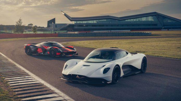 Watch the Aston Martin Valhalla's near-otherworldly track debut