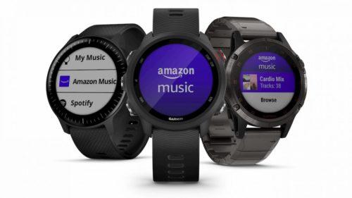 Amazon Music app gives Garmin smartwatches an edge