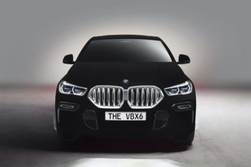 BMW X6 in 'world's blackest black' coming to Frankfurt