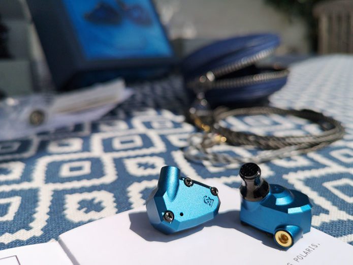 CAMPFIRE AUDIO POLARIS 2 REVIEW : A big, blue, bassy sonic weapon.