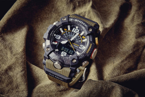 Striking Casio G-Shock Gravitymaster watch is styled like an aircraft's joystick