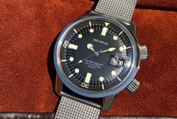 Three Vintage Dive Watches from a Legendary American Brand
