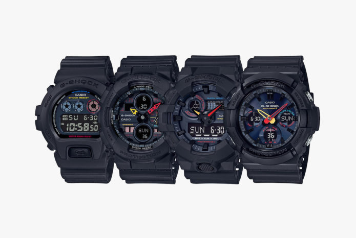 NEO TOKYO SERIES - These New G-Shock Watches Harness Classic Japanese Pop-Culture Cool
