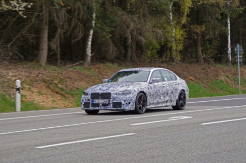 2021 BMW M3 Caught Testing on the Nurburgring