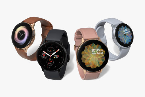 Samsung's Galaxy Active Watch Is Back With LTE and a Heart Rate Monitor
