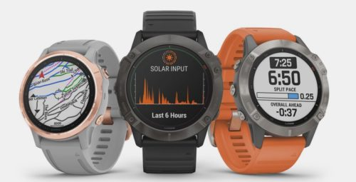 Garmin Fenix 6X Pro adds solar charging to keep you running even longer