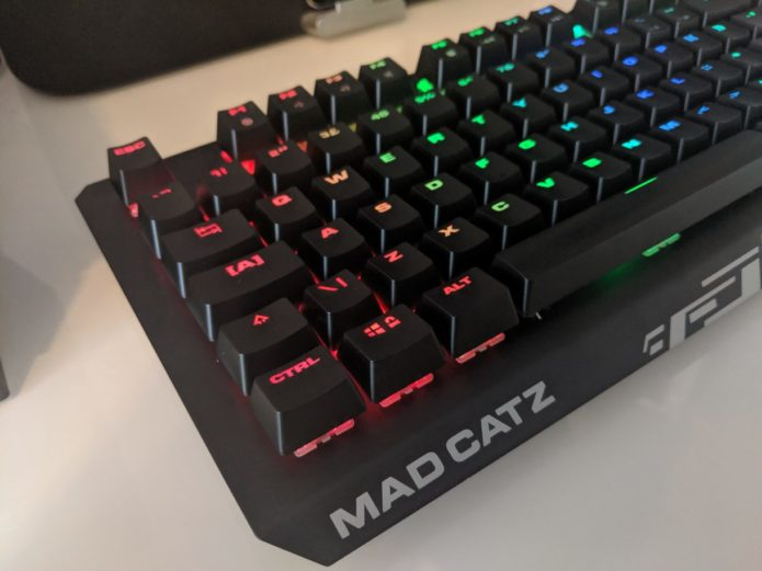 Mad Catz Strike 4 Keyboard Review