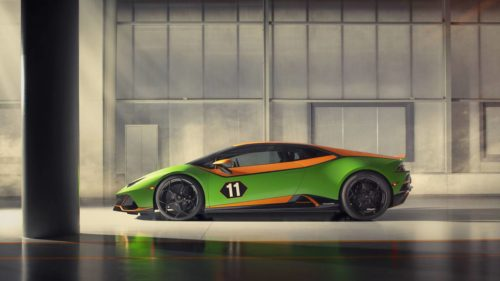 Lamborghini unveiled a pair of special cars at Monterey Car Week