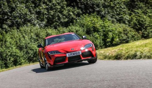 You Can Get a 2020 Toyota Supra With a Manual Transmission After All