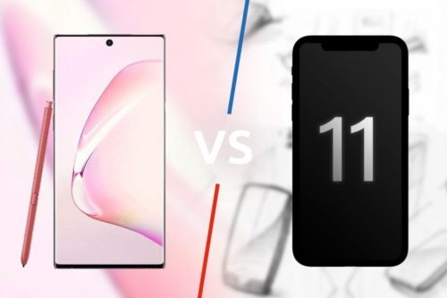Samsung Galaxy Note 10 vs iPhone 11: Battle of the beasts