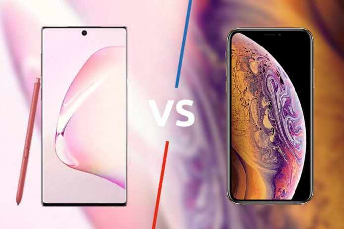 Samsung Galaxy Note 10 vs iPhone XS: A clash of the titans