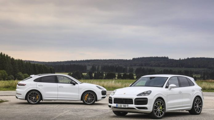 2020 Porsche Cayenne Turbo S E-Hybrid SUV and Coupe promise 670hp