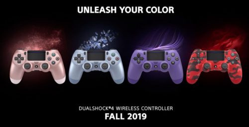 Sony's new DualShock 4 colour options might be the sexiest yet