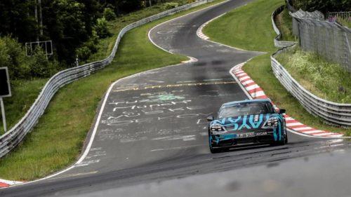 Porsche Taycan sets new EV record at Nürburgring-Nordschleife