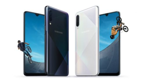 Samsung quietly rolls out the Galaxy A50s and A30s midrangers