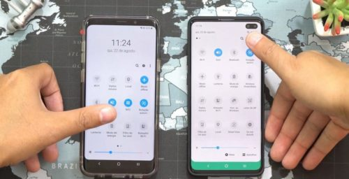 Samsung Galaxy S10 with Android 10 and new One UI breaks cover