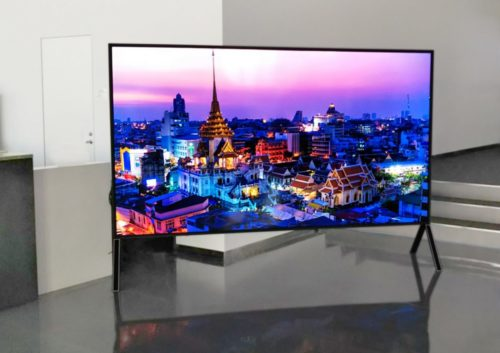 Sharp will unveil a 120-inch 8K TV at IFA