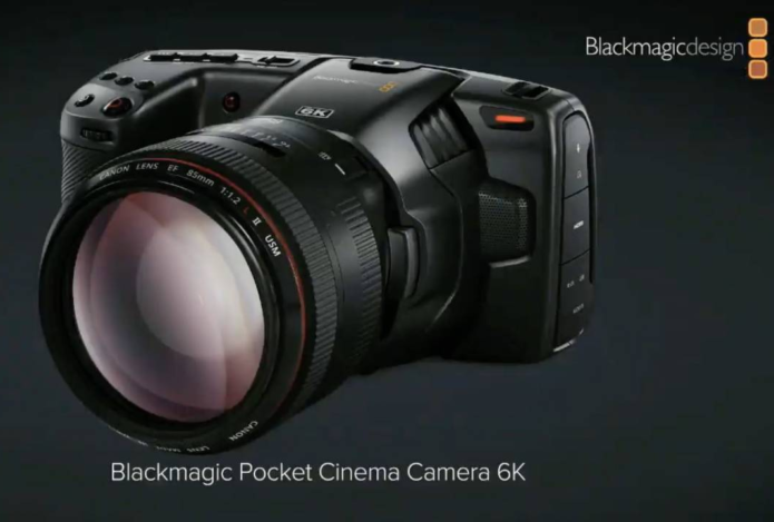 Blackmagic Pocket Cinema Camera 6K adds EF mount
