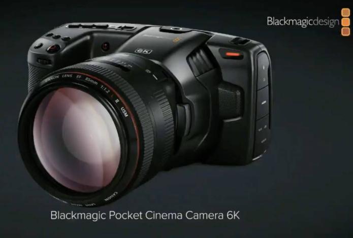 Blackmagic Pocket Cinema Camera 6K adds EF mount