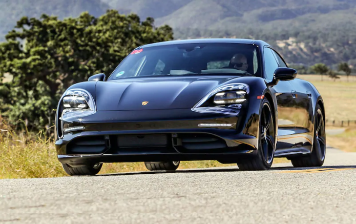 We Got a Tire-Squealing Ride in a 2020 Porsche Taycan. Here's What We Learned