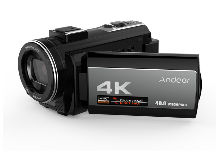 Andoer Camcorder Review: 4K Ultra HD WiFi Digital Video Camera
