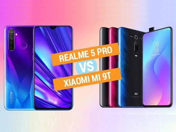 Realme 5 Pro vs Xiaomi Mi 9T specs comparison