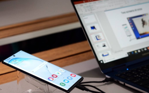 Galaxy Note 10 DeX for Windows and Mac go live