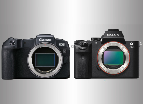 Canon EOS RP vs Sony A7 II – Five key points analysed